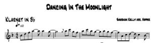 Dancing In The Moonlight - klarnet
