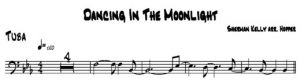 Dancing In The Moonlight - tuba