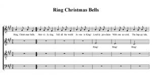 Ring Christmas Bells - SATB - partytura