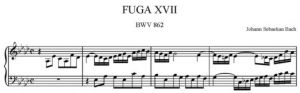 17. Fuga nr 17 As-dur BWV 862