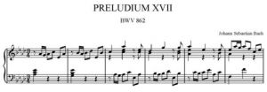17. Preludium nr 17 As-dur BWV 862