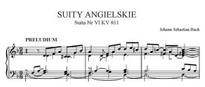 Suity angielskie - Suita nr 6 d-moll BWV 811
