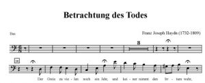 5. Betrachtung des Todes - STB i fortepian - bas