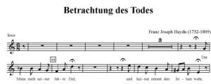 4. Betrachtung des Todes - STB i fortepian - tenor
