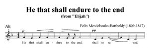 4. He that shall endure to the end - SATB - alt