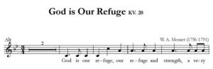 God is Our Refuge KV. 20 - SATB - alt